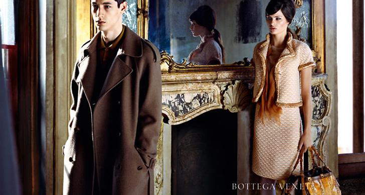 Isabeli Fontana för Bottega Veneta.