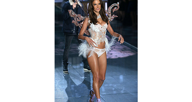 Nu: Idag är Alessandra en av de äldsta änglarna, men hon blir bara snyggare och snyggare för varje år enligt oss!