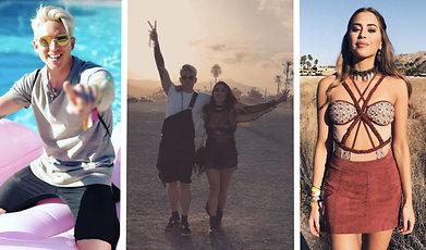 Molly Sanden, Angelica Blick, Janni Deler, Danny Saucedo, Coachella 2017, Kenza Zouiten Subosic