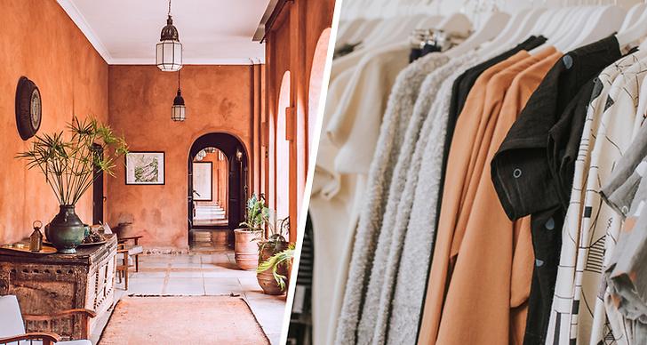 Genom att bära färger som är en kombination av brunt och orange ser du lyxig ut.