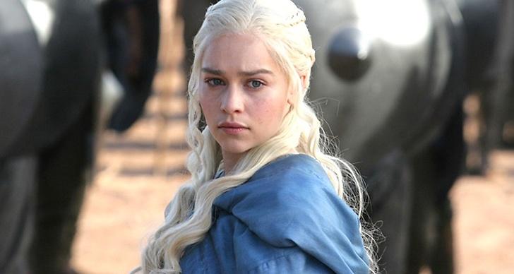 Daenerys Targaryen i Game of Thrones.