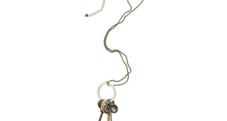Halsband med nycklar.