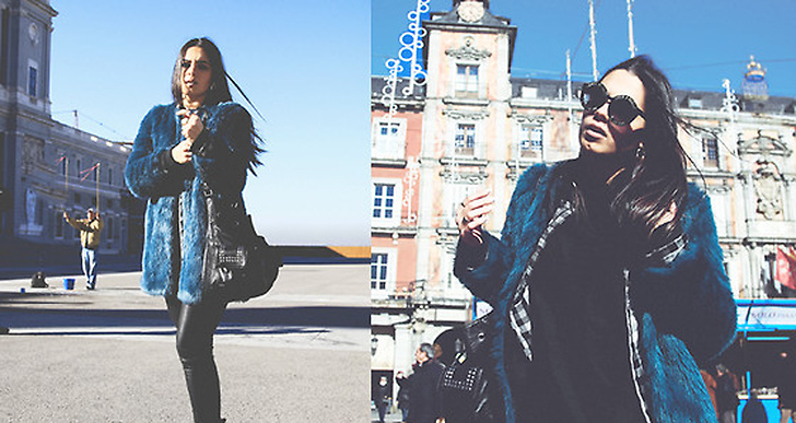 Ines från Portugal har fattat årets grej och satsat på en fejkpäls som sticker ut! Spana in henens outfits här http://lookbook.nu/imm