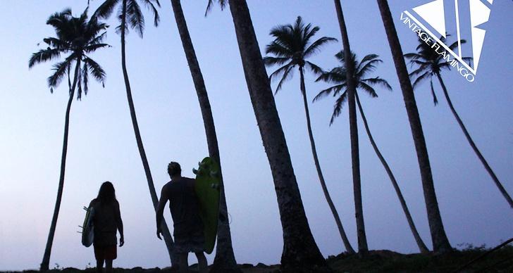 Märket skapades inspirerat av killarnas kärlek till surf.