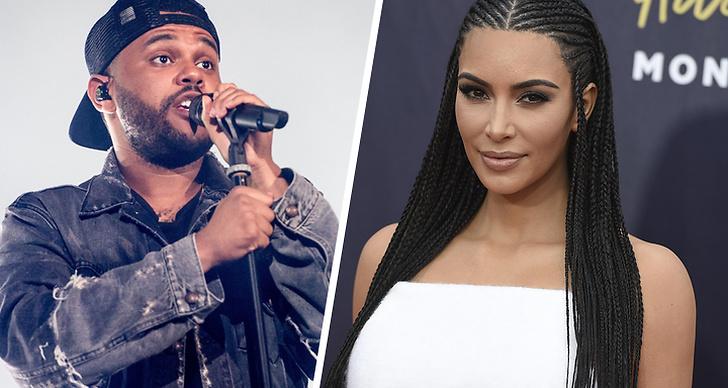 The Weeknd, Kim Kardashian West