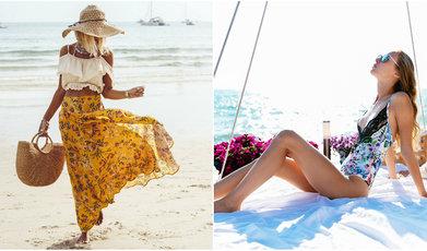 Sommarmode, Strandkläder, Badkläder