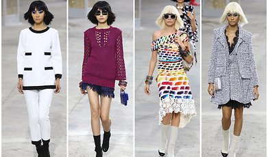 Chanel, Fashion, Paris, Catwalk, Karl Lagerfeld, Cara Delevingne, runway, Fashion Week