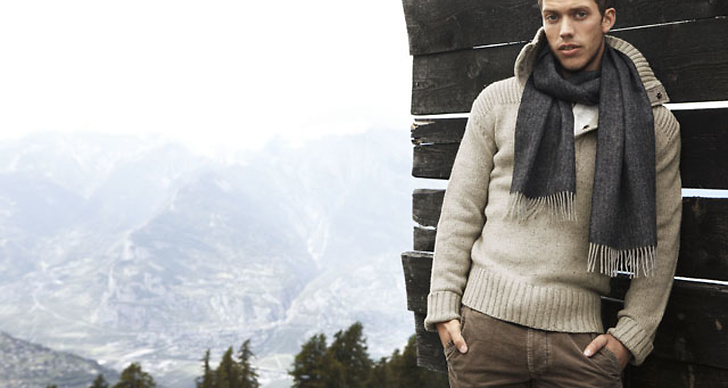Fotograferingen ägde rum i de schweiziska alperna.