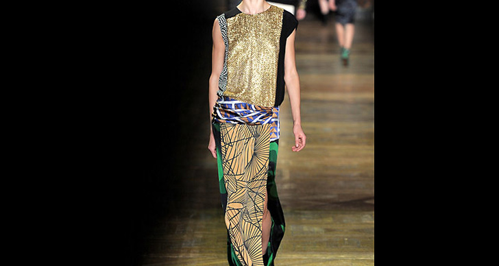 10. Lappat hos Dries van Noten.