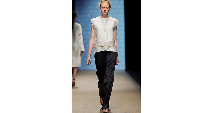 Sidenbyxan fick nog många fashionistas hjärta att slå lite extra.