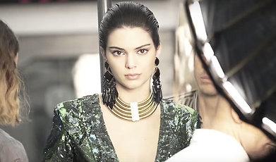 Modell, Kendall Jenner, Balmain, BALMAIN X H&M, HM Hennes Mauritz, Livsstil, Mode