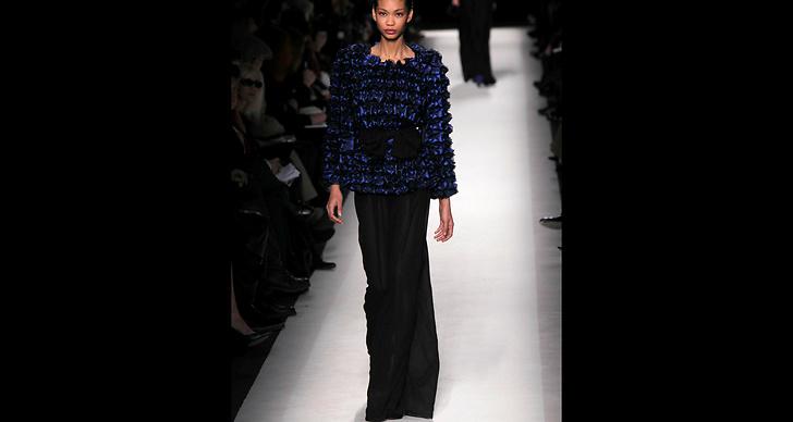 …precis som vackra Chanel Iman i långkjol. ?
