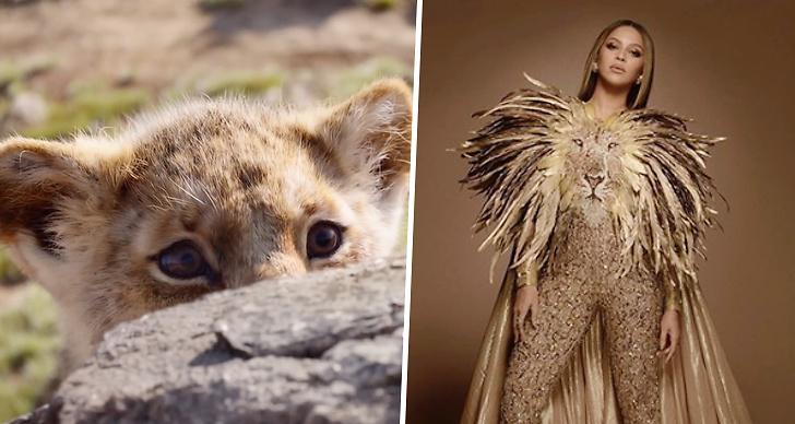 Beyoncé sjunger i Lejonkungen, film, premiär, Nala