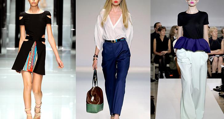 Här på catwalken för Versace, Fendi och Jil Sander.