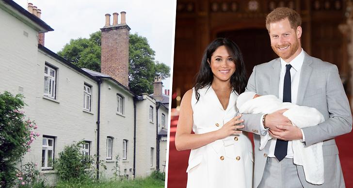 Meghan Markle och prins Harrys hus har renoverats.