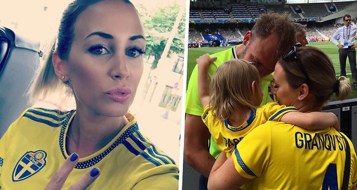 Sofie Granqvist om förlossningen under VM.
