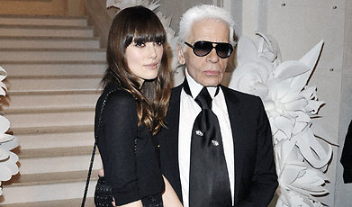 Chanel, Keira Knightley, Karl Lagerfeld