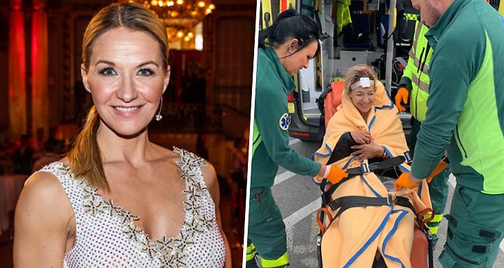 Kristin Kaspersen, Let's Dance, ambulans