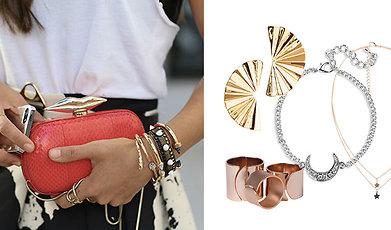 Halsband, örhängen, Smycken, Armband, Mode, Shopping, Ring