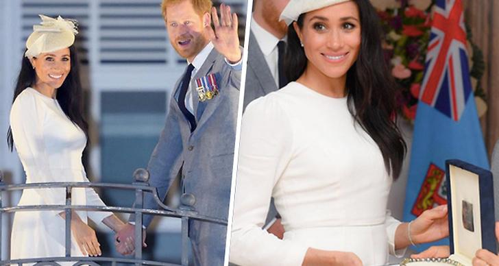 Meghan och Prins Harry i Fiji
