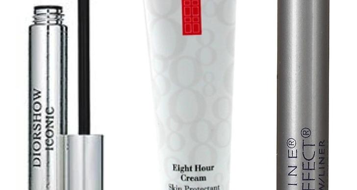 Diorshow Mascara cirka 245 kronor, Eight Hour Cream cirka 250 kronor,Maybelline Cool Effect cooling shadow cirka 125 kronor.