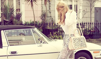 Angelica Blick, Next In Fashion, Intervju