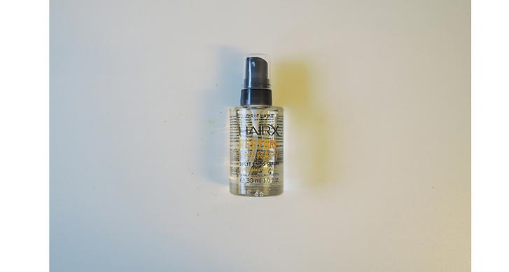 Oriflame Hairx, 99 kr. Förklaras som en terapi för håret och fungerar väldigt bra som hårmask och serum.