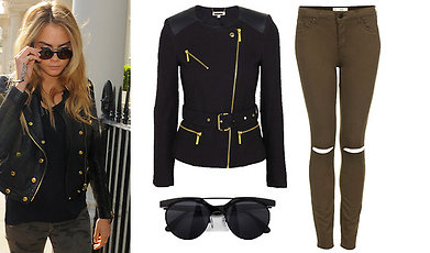 Get the look, Cara Delevingne, Sno stilen, Shoppingtips, Trend