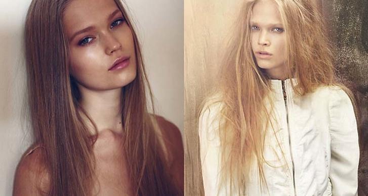 Hennes silkesfina hår skulle göra vem som helst avunsjuk.