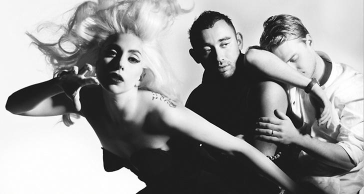 The Haus of Gaga: Lady Gaga, Nicola Formichetti och Matt Williams av Nick Knight för i-D magazine.