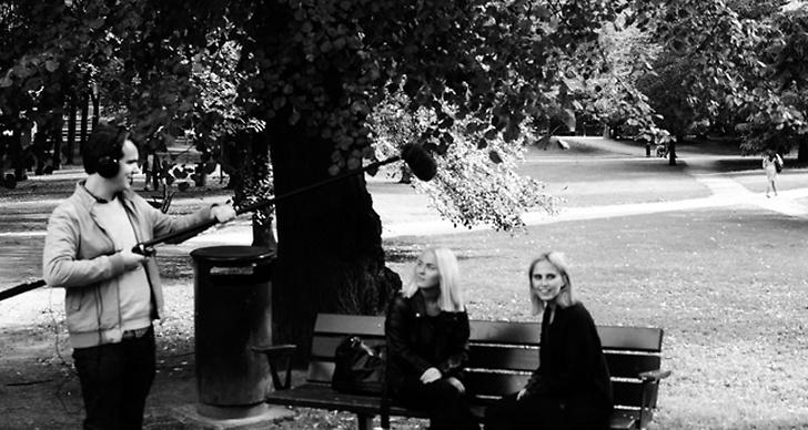 Natalie Karlsson och Angelica Blick i Humlan