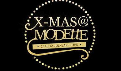 Jul, Shopping and fashion, Julkalender, Ida Warg, Julklappstips, X-mas @Modette, Molly Rustas, Nicole Falciani, Julklapp