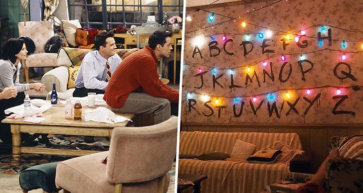 Vänner, tv-serie, vardagsrum, IKEA