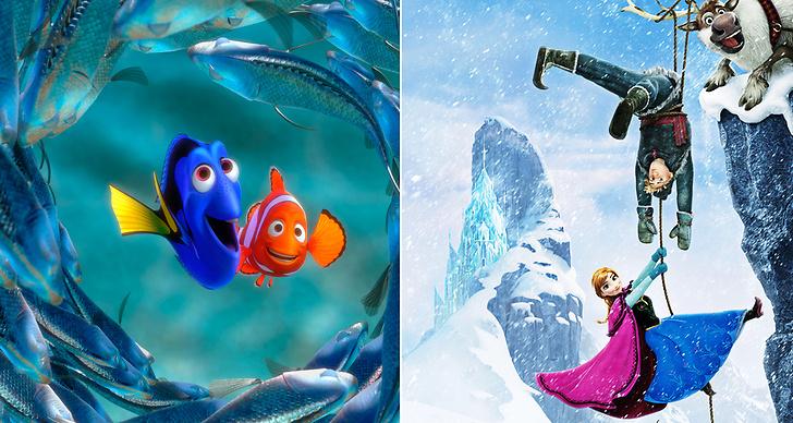 Hitta nemo och Frozen – se alla Disneyfilmer här.