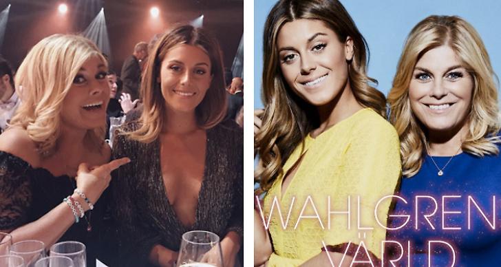 Två bilder från Wahlgens Värld.