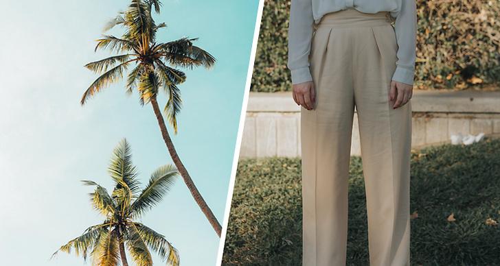 Svala byxor som är sköna på sommaren