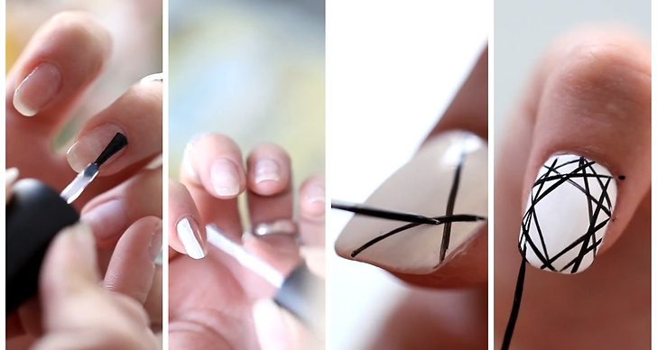 Veckans DIY är en tutorial på hur du fixar grafiska naglar själv