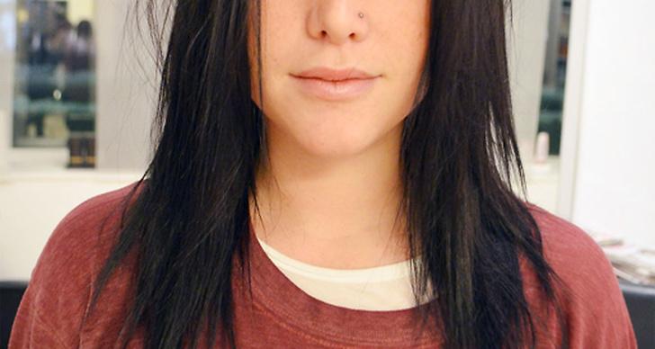 färga håret svart tillfälligt