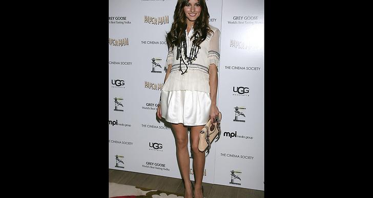 The City-stjärnan och stilikonen Olivia Palermo bär YSL-pumps. ?