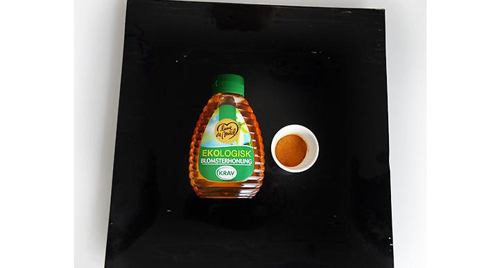 1. Antiinflammatorisk honung och kanelmask