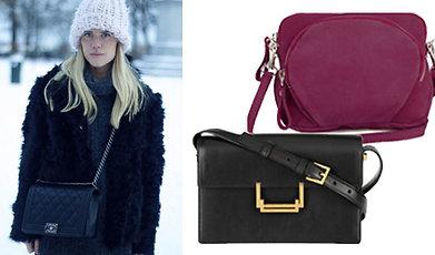 filippa k, Saint Laurent, Zara, HM Hennes Mauritz, bags