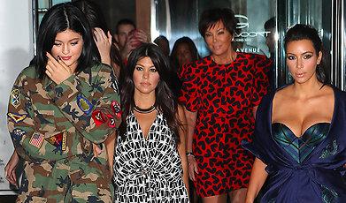 Kylie Jenner, Caitlyn Jenner, Familjen Kardashian, Brody Jenner, Kendall Jenner, Kim Kardashian, Khloe Kardashian, Kourtney Kardashian, Kanye West, Nicole Richie