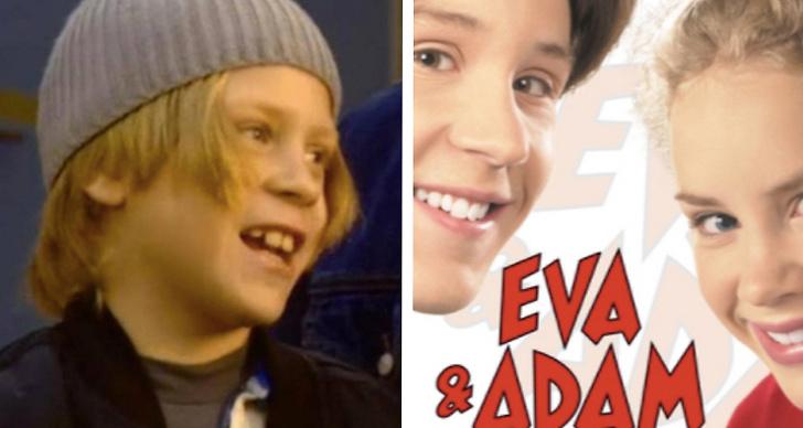 Jonte från barnfilmen Eva och Adam.
