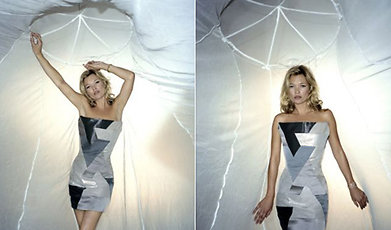 Välgörenhet, Malaria, Kate Moss