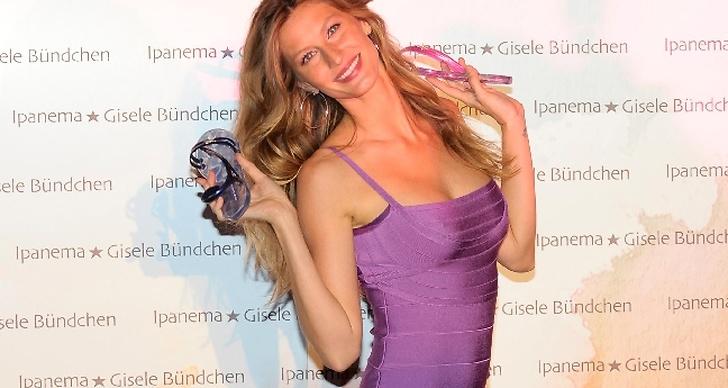 Plats 1: Gisele Bündchen tjänar 25 miljoner dollar.