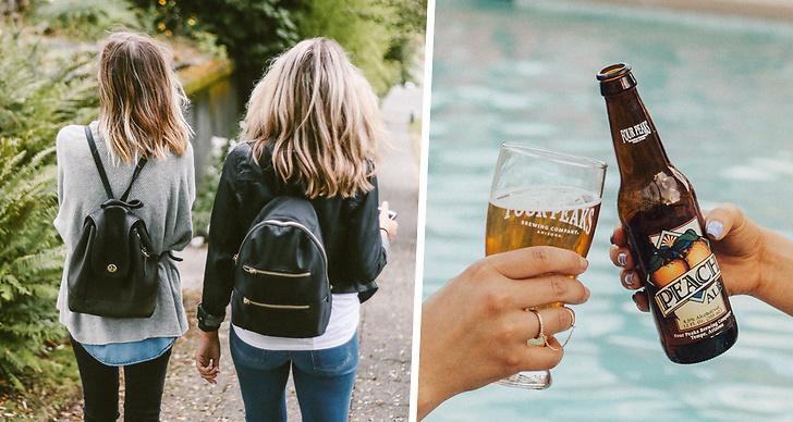 Tonåringar dricker mindre.