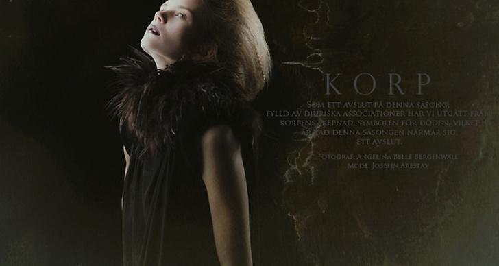 Korp, foto av Angelina Belle Bergenwall och mode av Josefin Arestav.