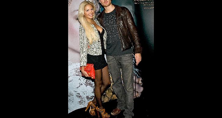 Natacha med pojkvännen Dhani Lennevald.