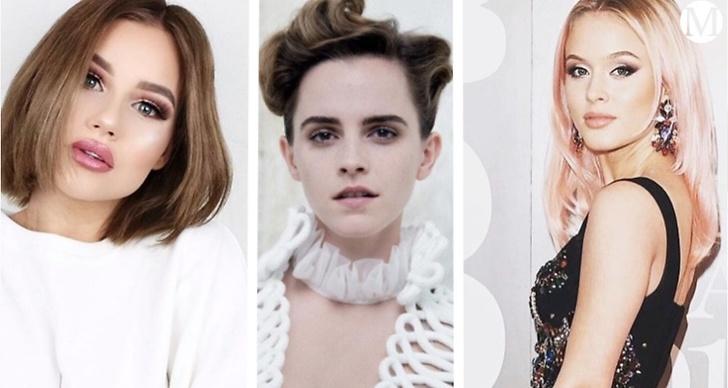 från vänster: Felicia Aveklew, Emma Watson och Zara Larsson.