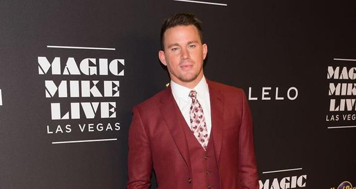 Channing Tatum på röda mattan under Magic Mike premiären.